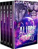 The Alien Badass Complete Series Box Set (Books 1 - 4) (Optorio Chronicles)