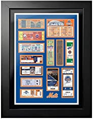 """Mustang Product New York Mets Polo Grounds, Shea Stadium, Citi Field Tickets to History Photo (Size: 20"""""""