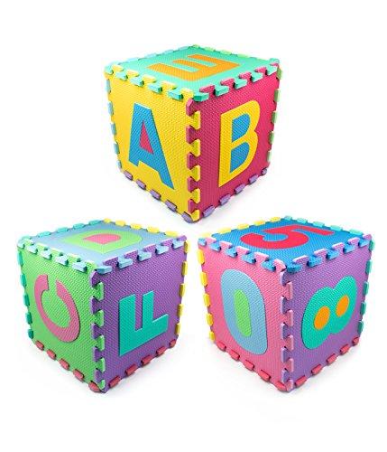 Authentic Matney Kids Foam Floor Alphabet And Number
