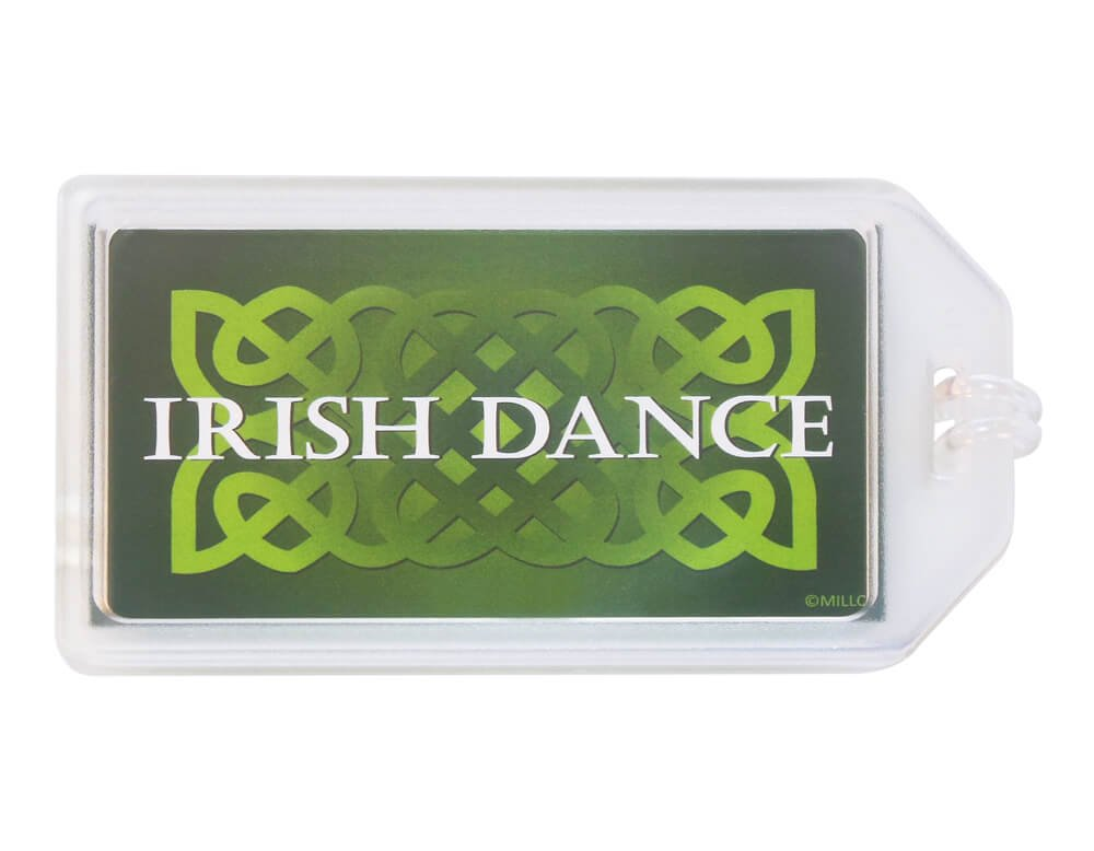 Irish Dance Celtic Knot Luggage Tag Set of 2