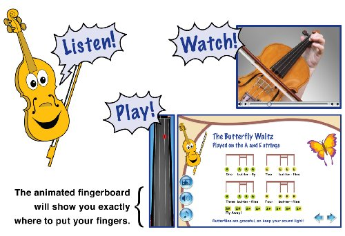 Cartoon Violin Images: EMedia My Violin - Buy Online In UAE.