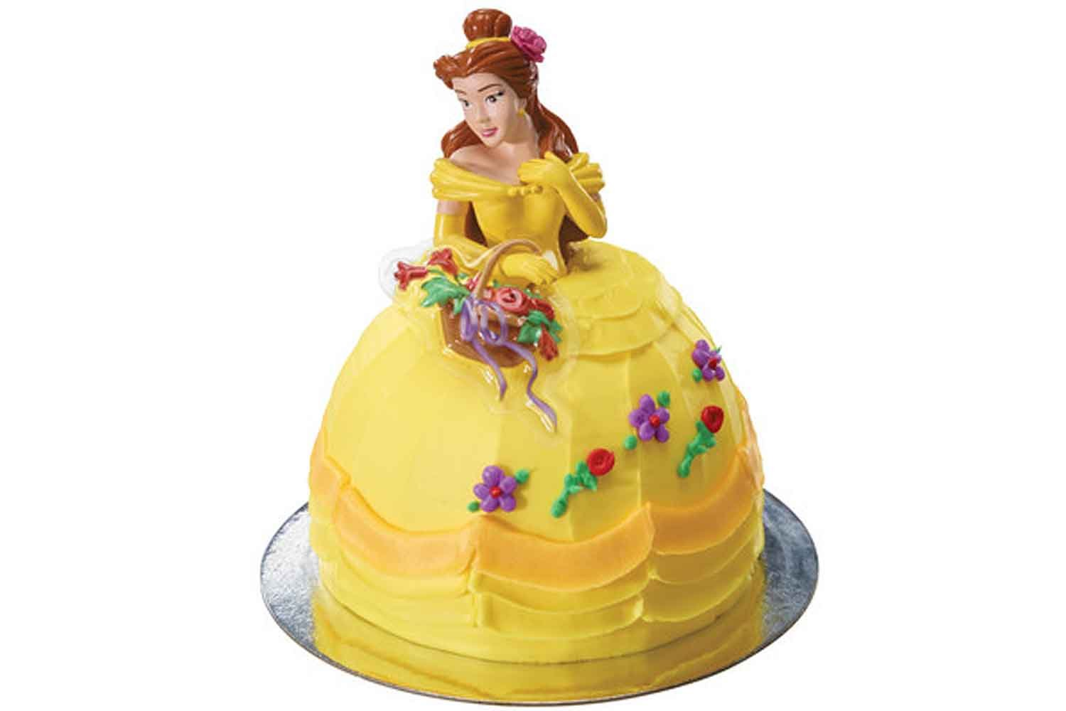 Beauty and the Beast Cake Toppers