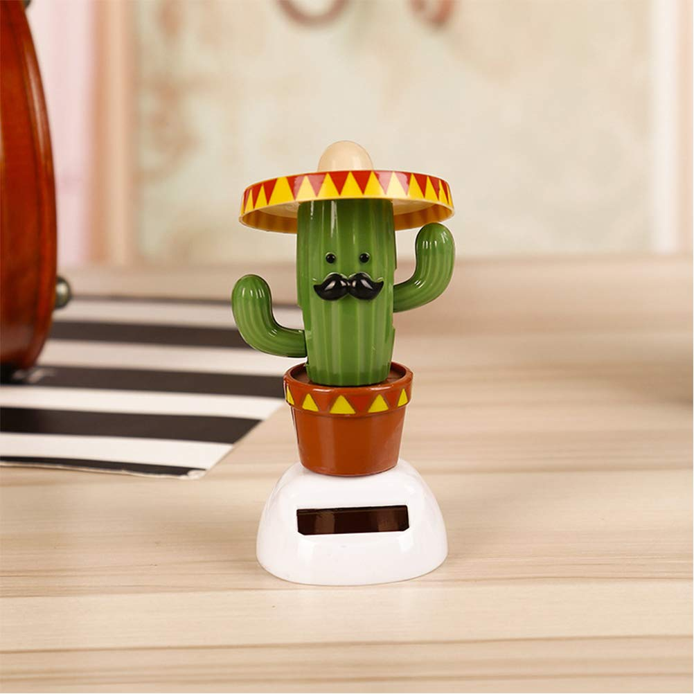 Amosfun 2 pz Giocattoli Solare Danza Cactus Hawaiian Bambola Bobble Auto Cruscotto Danza Figurine Tropicali Luau Beach Party Messicana Fiesta Decorazione Ornamento