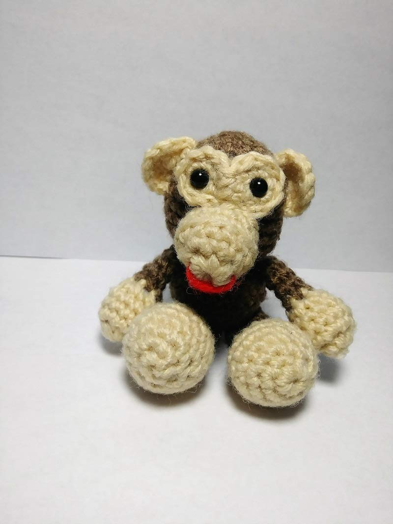 Monkey Free Amigurumi Pattern | Crochet monkey pattern, Monkey ... | 1066x800