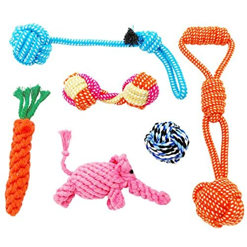 Dog Toys Rope 6 Pack for Pets Chew Gift 85%OFF