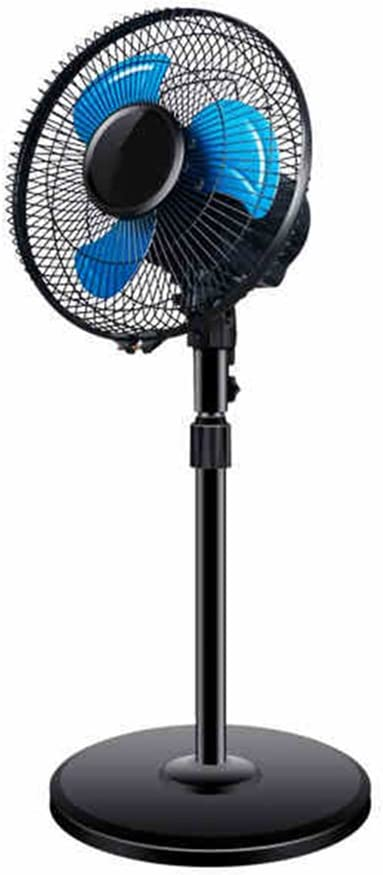 FANS LHA Ventilador de Cabeza móvil Vertical mecánico Mini de ...