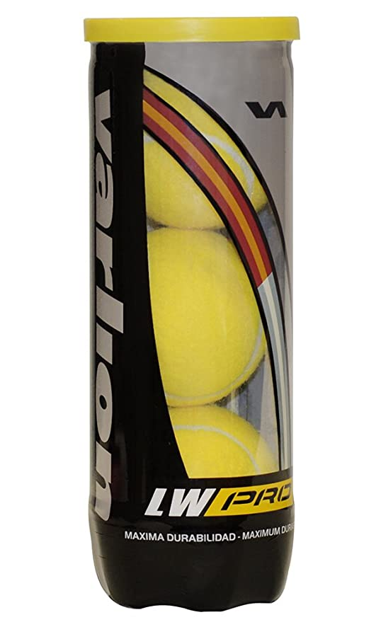 VARLION LW Pro - Bote de Pelotas de pádel, Color Amarillo: Amazon ...