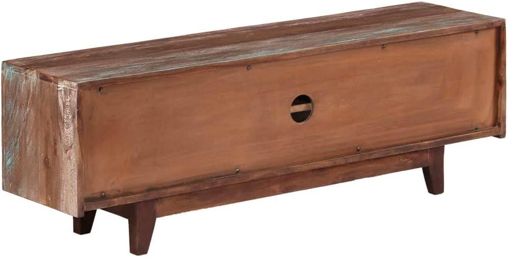 vidaXL Madera Maciza Mueble para TV Acacia Vintage 118x30x40 cm Comedor Sal/ón