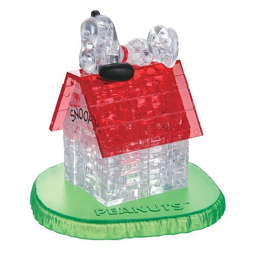 3D Crystal Puzzle Snoopy and (Snoopy Puzzle)