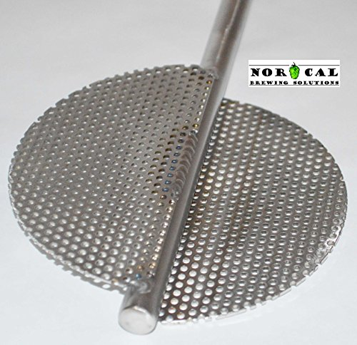 Jaybird Stainless Steel EXTREME Twin Blade Homebrew Beer Brewing Mash (Extreme Paddle)