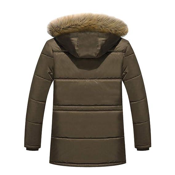 Goddessvan Mens Winter Plus Size Coats Outdoor Thicken Solid Fleece Jacket Overcoat at Amazon Mens Clothing store: