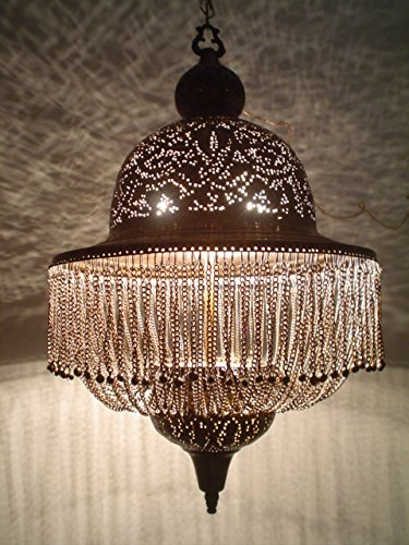 BR189 Antique Style Handmade Dome Lampshade / Pendant Chandelier