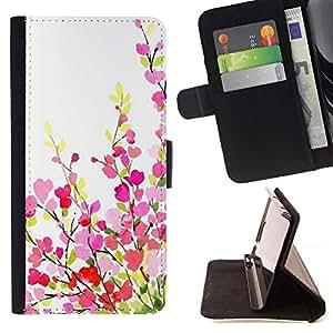 ForSamsung Galaxy S3 MINI i8190 (NOT S3) Case , Lila - la tarjeta de Crédito Slots PU Funda de cuero Monedero caso cubierta de piel