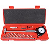 50-160mm Dial Bore Gauge, Walfront Internal Cylinder Bore Gauge Set Cylinder Tool Kit 0.01mm Graduations