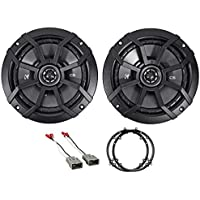 2003-2007 Honda Accord Front 6.5 Kicker Factory Speaker Replacement Kit