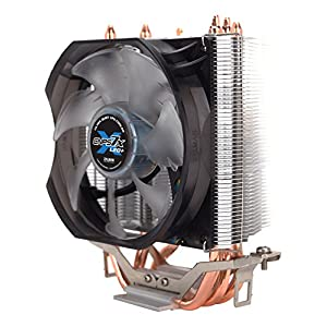 Zalman Silent CPU Cooler with Direct Touch Heat-Pipe Base CNPS7X LED+