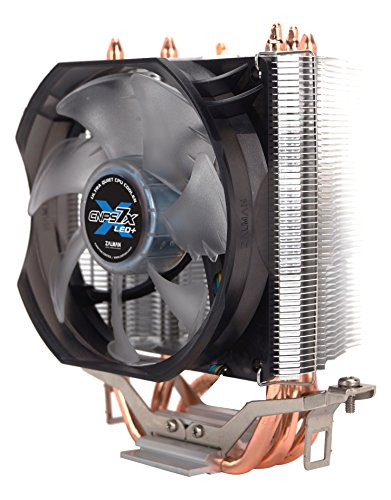 (Zalman Silent CPU Cooler with Direct Touch Heat-Pipe Base CNPS7X LED+)