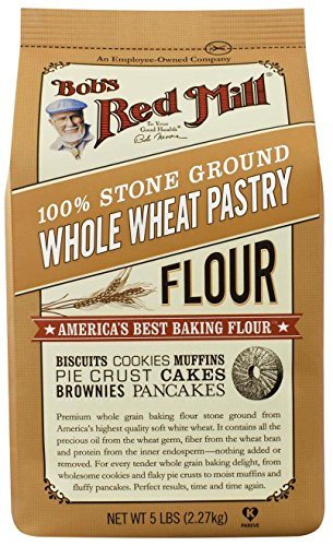 Bob's Red Mill Pastry Flour Whole Wheat - 5 lb (Wheat Flour No)