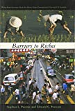 img - for Barriers to Riches (Walras-Pareto Lectures) book / textbook / text book