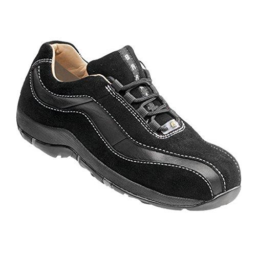 BAAK Femme Chaussures de sécurité Sandy 3222Woman Premium S2Esd Chaussures basses bgr191Noir, noir, 3222