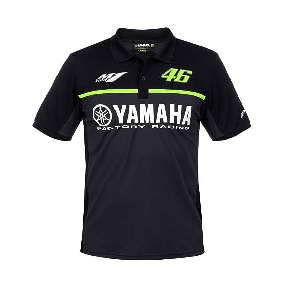 Valentino Rossi VR46 Yamaha Black Edition Polo 2017 S: Amazon.es: Ropa y accesorios