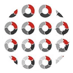 alfombrilla de ratón Flechas del círculo del vector de infografía redonda, diagrama, gráfico. - ronda - 20cm