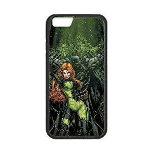 Batman And Poison Ivy Comic iPhone 6 Plus 5.5 Inch Cell Phone Case Black TPU Phone Case SV_114585