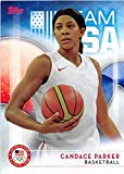 Candace Parker basketball card (United States Olympic Team WNBA University of Tennessee Lady Vols) 2016 Topps #5
