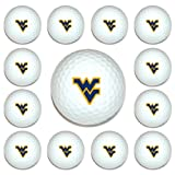 NCAA West Virginia Mountaineers Golf Balls, 12 Pack