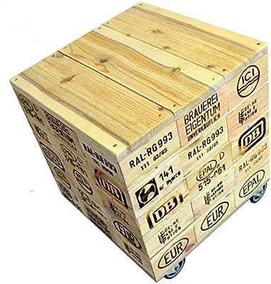 Asiento en forma de cubo taburete/Mesa hecho de Reciclado de ...