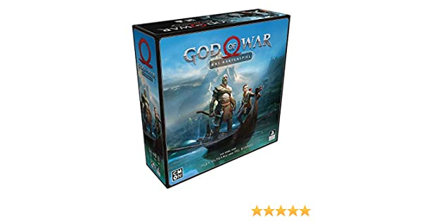 Cool Mini or Not CMND0117 God of War: Das Kartenspiel, Mehrfarbig, bunt , color/modelo surtido: Amazon.es: Juguetes y juegos