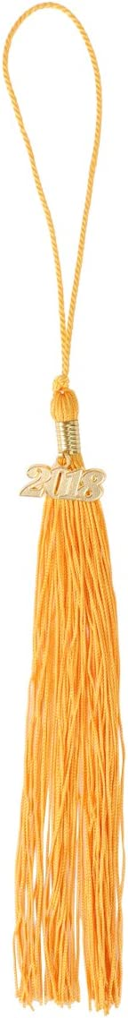 Golden BESTOYARD Graduation Tassel with 2018 Charm Graduation Gown Tassels for Graduate Ceremony Class of 2018