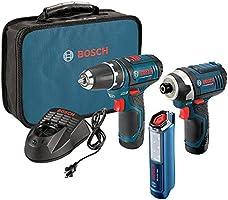 Bosch 12-Volt 2-Tool Combo Kit