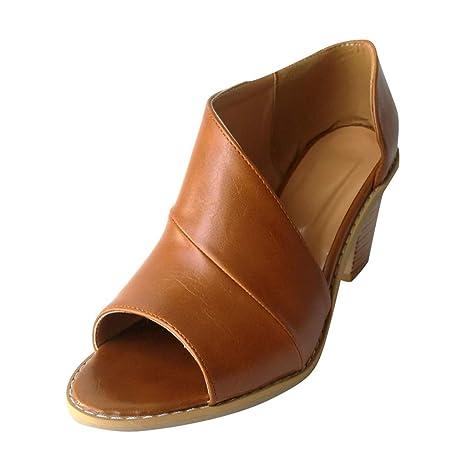 AG&T Zapatos de Vestir Mujer Planas Derby Transpirable Oxford ...