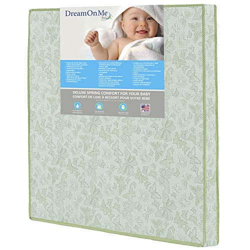 Dream on Me Play Yard Firm Foam Mattress, Totbloc ()