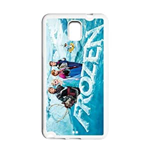 2014 Disney 3D Cartoon Movie Frozen Poster Samsung Galaxy Note 3 TPU Back Cover Case