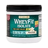 Fitness Labs WheyFit Isolate – 100% Whey Protein Isolate (5 Ounces, Natural Vanilla) Review