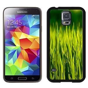New Beautiful Custom Designed Cover Case For Samsung Galaxy S5 I9600 G900a G900v G900p G900t G900w With Summer Grass Macro Phone Case
