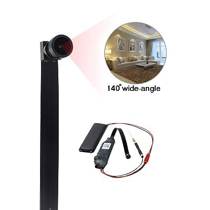 UYIKOO 8GB Mini Cámara Espía 1080P HD Cámara de Video Oculta Cámara Wifi Inalámbrica Cámara Seguridad