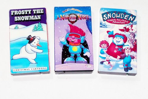 - Classic Cartoon's Collection #38 (3 Pk): Christmas set: A Norfin Noel, Snowden, Frosty the Snowman & More