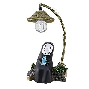 Spirited Away No Face Man Night Light Children Gift Kids Toy Home Decor Craft Decorative Sleep Lamp Chihiro Table Desk Lamp Miyazaki Hayao Anime Kaonashi