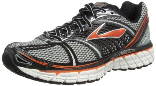 Brooks Men's Trance 12 Running Shoes, Color: Slvr/Blk/RedOrng/Wht/Pvmnt, Size: - Mens Shoes Brothers Brooks
