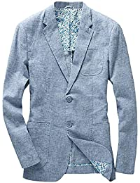 Men's Lightweight Half Lined Two-Button Suit Blazer
