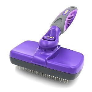 Hertzko Self Cleaning Slicker Brush