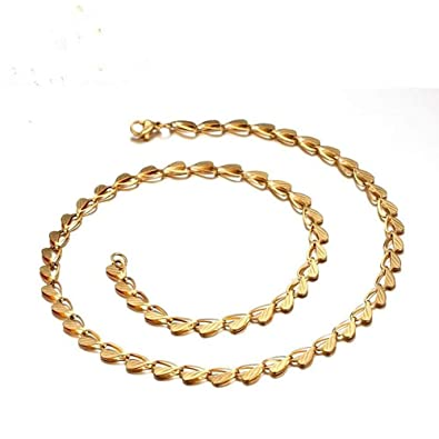 collier homme or 60