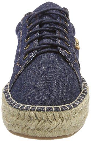 Femme Blue Denim Pepe Jeans Andy Bleu Dk Espadrilles 18PIqC