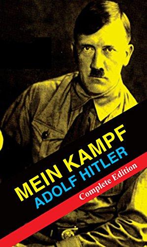 Mein Kampf Adolf Hitler Complete Edition