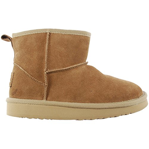 Women's Dude Shoes Ladies Tan Boot Suede Sella 5gUU1wvnq