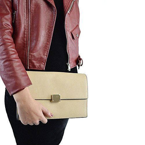 Glam Leather Clutch - 1