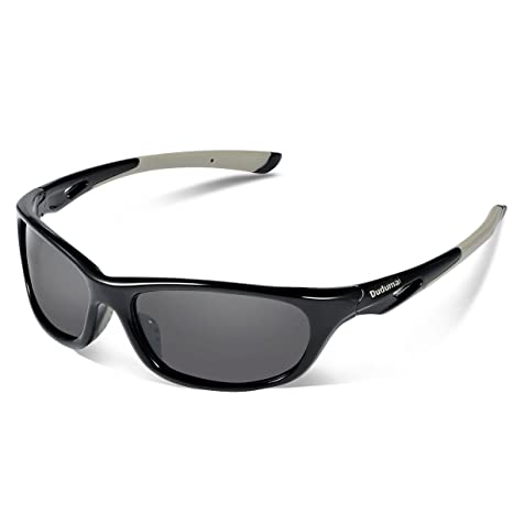 6abc64ad6c Amazon.com   Duduma Polarized Sports Sunglasses for Men Women Baseball  Running Cycling Fishing Driving Golf Unbreakable Frame Du646   Sports    Outdoors